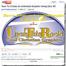Cool Christian Graphics UponThisRock.com