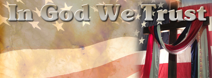 facebook cover image in god we trust
