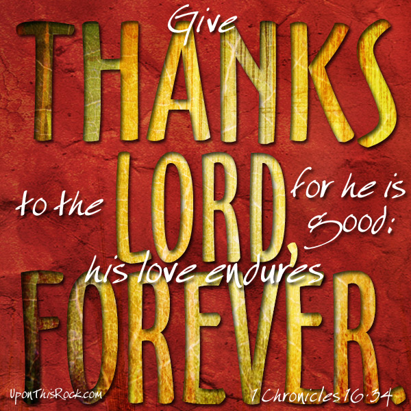 give thanks Thanksgiving graphic UponThisRock.com