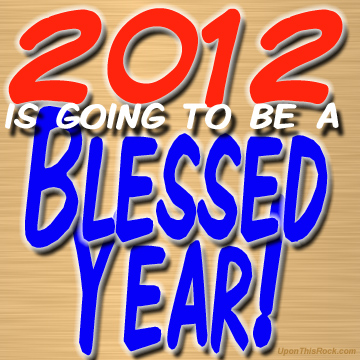 2012 will be blessed